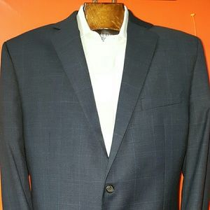 Ralph Lauren mens slate blue suit jacket size 44R
